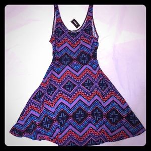 NWT Express Tribal Print Dress